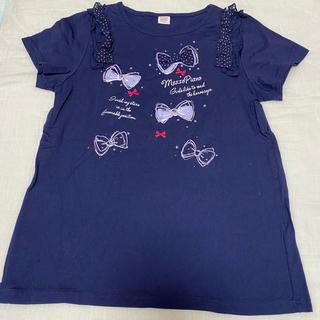 メゾピアノ(mezzo piano)のメゾピアノ 160 カットソー 半袖Tシャツ/クミキョク、べべ好きな方に(Tシャツ/カットソー)