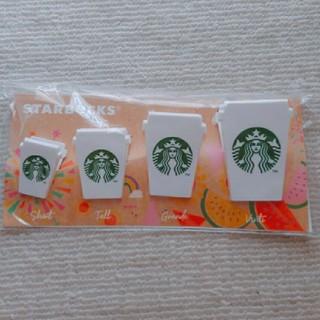 スターバックスコーヒー(Starbucks Coffee)のスタバ クリップセットCup(その他)