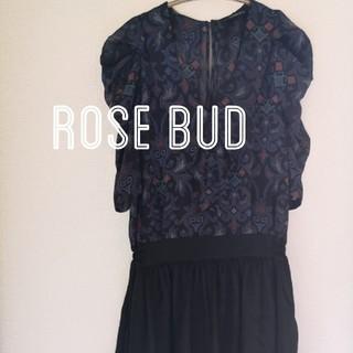 ローズバッド(ROSE BUD)のROSE BUD オールインワン(オールインワン)