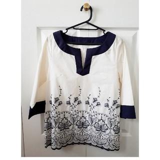 ef-de - エフデの刺繍チュニック♥️