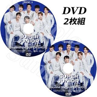 スーパージュニア(SUPER JUNIOR)のSUPER JUNIOR - Beyond LIVE 【DVD】(アイドル)