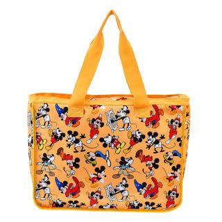 ディズニー(Disney)のミッキー トートバッグ イエロー 新品未使用(トートバッグ)