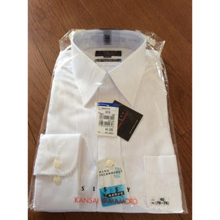 カンサイヤマモト(Kansai Yamamoto)のワイシャツ 長袖  KANSAI YAMAMOTO  40-78   新品未使用(シャツ)