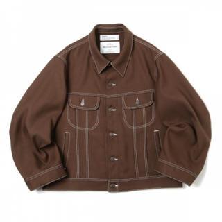Jieda - DAIRIKU 20ss Regular Polyester Jacket