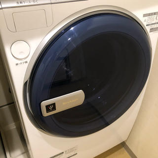 シャープ(SHARP)のシャープ(SHARP) 洗濯乾燥機 ドラム式 9.0kg 全国送料無料(洗濯機)