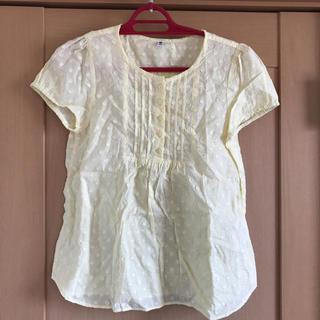 ユニクロ(UNIQLO)のユニクロ 半袖 トップス ライトイエロー 150cm (Tシャツ/カットソー)
