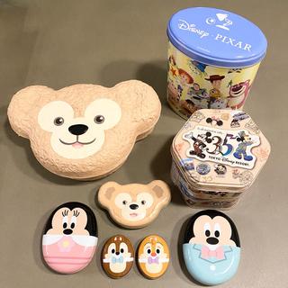 ディズニー(Disney)のディズニー 菓子缶 8点セット(キャラクターグッズ)