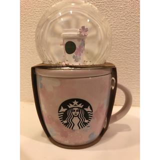Starbucks Coffee - スターバックス  SAKURA2020 スノーグローブ&マグ