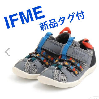 ブリーズ(BREEZE)の新品タグ付 BREEZE ブリーズ 靴 ベビー IFMEコラボ水抜きサンダル (サンダル)