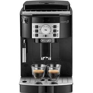 デロンギ(DeLonghi)のデロンギ マグニフィカS 全自動コーヒーメーカー ブラック ECAM22112B(コーヒーメーカー)