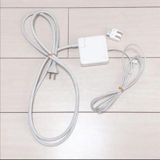 アップル(Apple)のMac 充電器 アダプタ MagSafe2 60W 純正(バッテリー/充電器)
