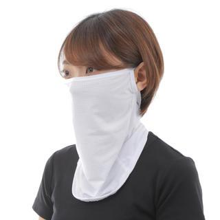 マスクカバー フェイスマスク ランニング 快適軽量 耳掛け 新品 白(その他)