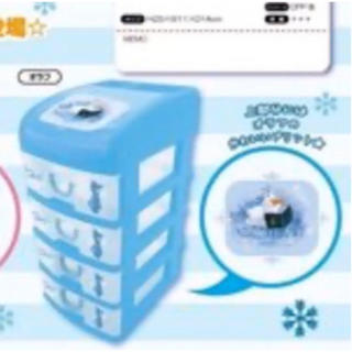 アナトユキノジョオウ(アナと雪の女王)のアナと雪の女王2 5段収納BOX(キャラクターグッズ)