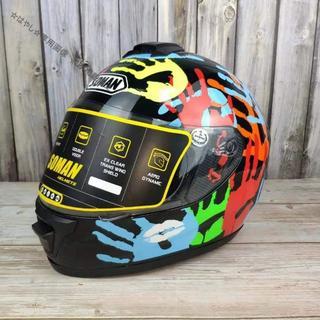 SOMAN962 バイクヘルメット(ヘルメット/シールド)