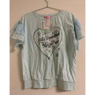 メゾピアノ(mezzo piano)のメゾピアノ♪ Tシャツ(Tシャツ/カットソー)