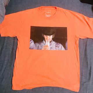 オレンジ Tシャツ 半袖