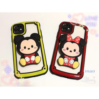 ディズニー(Disney)の【iPhone11専用】大人気✨ ミッキー ミニー の iPhoneケース (iPhoneケース)