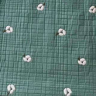 ミナペルホネン(mina perhonen)のミナペルホネン ohayoグリーン インテリアファブリック(生地/糸)