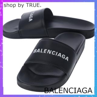バレンシアガ(Balenciaga)の【BALENCIAGA】サンダル/POOL/春夏/NOIR/BLANC/43(サンダル)