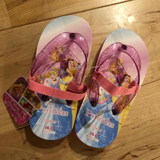 ディズニー(Disney)のディズニー  プリンセス  ビーチサンダル(サンダル)
