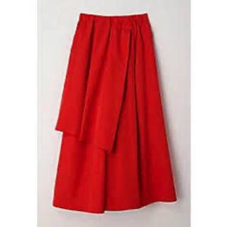 ENFOLD - 2019ss  ナゴンスタンス nagonstans スカートパンツ 赤 38