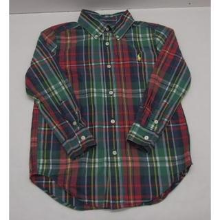 ラルフローレン(Ralph Lauren)の*1167・ラルフ ローレン 男の子 ボタンシャツ チェック柄 110cm(その他)