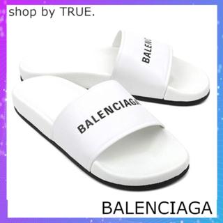 バレンシアガ(Balenciaga)の【BALENCIAGA】サンダル/POOL/春夏/BLANC/NOIR/42(サンダル)