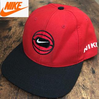 ナイキ(NIKE)のNIKE ビンテージ 赤タグ キャップ 90年代 USA製(キャップ)