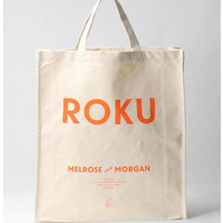 BEAUTY&YOUTH UNITED ARROWS - 新品未使用 ロク バッグ MELROSE AND MORGAN × 6 ROKU