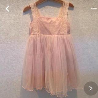 ふわふわチュール ワンピース (ドレス/フォーマル)