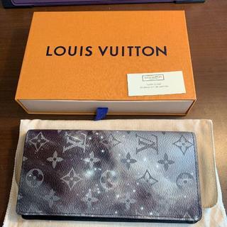 ルイヴィトン(LOUIS VUITTON)のモノグラム・ギャラクシー M63871 ポルトフォイユ ブラザ 二つ折り 長財布(長財布)