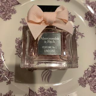 アバクロンビーアンドフィッチ(Abercrombie&Fitch)のAbercrombie&Fitch PERFUME NO.1 UNDONE(香水(女性用))