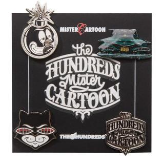Mr Cartoon The Hundreds Pin Set ピンセット(その他)