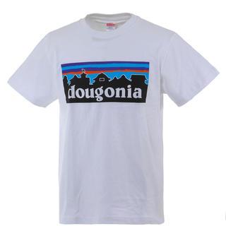 道後温泉 Tシャツ dougonia 白 Mサイズ