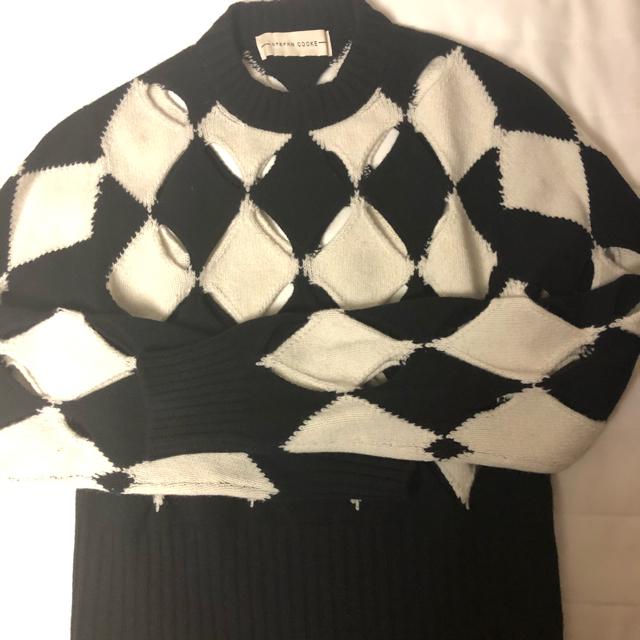 Maison Martin Margiela(マルタンマルジェラ)の<7月末迄の出品> STEFAN COOKE ニット メンズのトップス(ニット/セーター)の商品写真