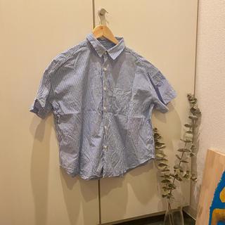 ビームスボーイ(BEAMS BOY)のbeams boy 半袖ストライプシャツ(シャツ/ブラウス(半袖/袖なし))