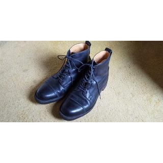 クロケットアンドジョーンズ(Crockett&Jones)の値下げ!美品 クロケット&ジョーンズ ドレスブーツ 黒 6.5E(ブーツ)