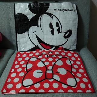 ディズニー(Disney)のDisney ディズニー ミッキー ミニー エコバッグセット(エコバッグ)