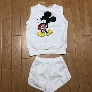 ディズニー(Disney)のミッキーセットアップ(Tシャツ/カットソー)