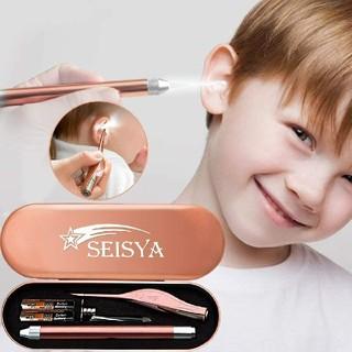 耳かき 耳掃除 LEDライト付き みみかき 子供用 成人兼用 (ボディケア/エステ)