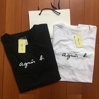 agnes b. - agnesb. 定番サイズM黒白2点セット アニエス・ベー半袖 Tシャツ