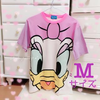 ディズニー(Disney)の𓊆Disneyデイジーダック♡半袖Tシャツ M𓊇 (Tシャツ(半袖/袖なし))