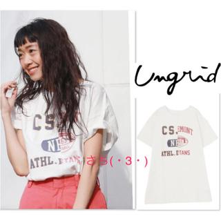 Ungrid - Ungrid♡リメイクビッグTee♡
