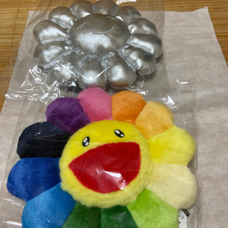 村上隆 カイカイキキ Flower cushion 30cm 2個セット