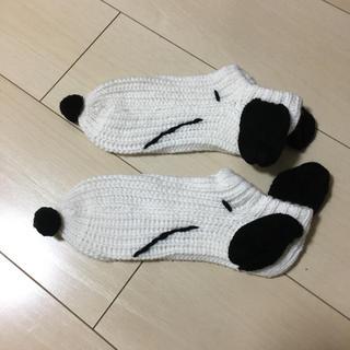 スヌーピー(SNOOPY)のスヌーピー 靴下(キャラクターグッズ)