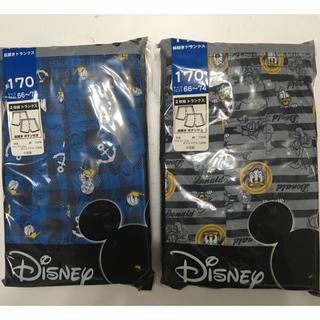 ディズニー(Disney)の男児 ディズニー2Pトランクス 170㎝(下着)