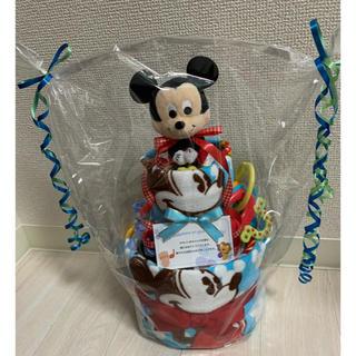 ディズニー(Disney)のおむつケーキ ミッキー(ベビー紙おむつ)