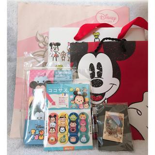ディズニー(Disney)のディズニー 紙袋 付箋 バッジ(その他)
