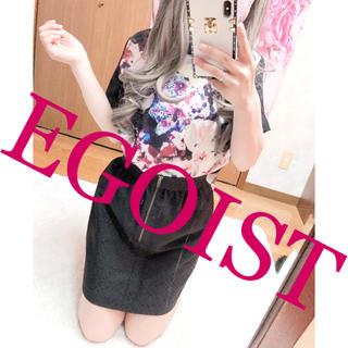 エゴイスト(EGOIST)の2117.EGOIST シフォン 派手柄 花柄 シャツ ブラウス(シャツ/ブラウス(半袖/袖なし))