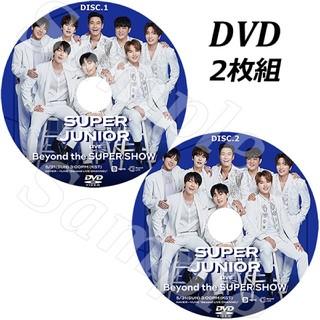 スーパージュニア(SUPER JUNIOR)のSUPER JUNIOR - Beyond LIVE 【DVD】(ミュージック)